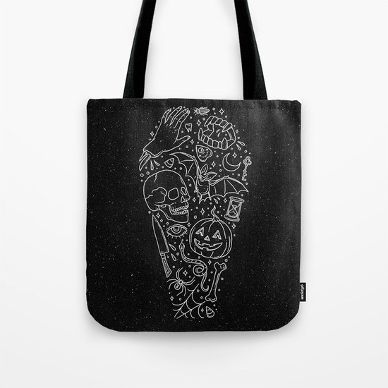 Halloween Horrors Tote Bag