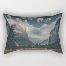 Lauterbrunnen at Dusk Rectangular Pillow