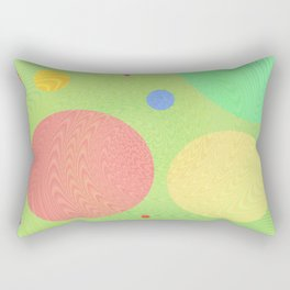Re-Created Twisters No. 1 by Robert S. Lee Rectangular Pillow