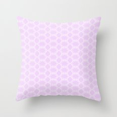 Honeycomb Doily  Throw Pillow