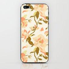 Magnolia Pattern iPhone & iPod Skin