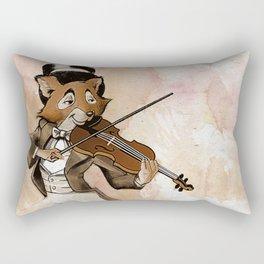 Fox and Fiddle Rectangular Pillow