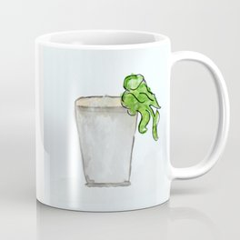 Mint Julep watercolor, Kentucky Derby, Handpainted, Cocktail Coffee Mug