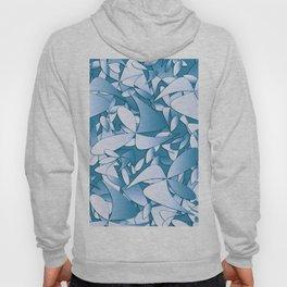 Pattern blue 155 Hoody