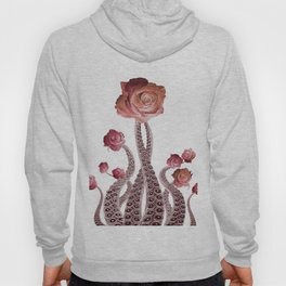 Floral Octopus Tentacles with Roses Hoody