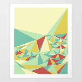 Facet - Bloom Tone Art Print