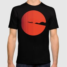 The long goodbye Mens Fitted Tee Black LARGE
