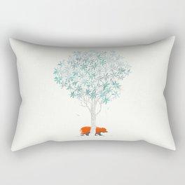 Brown bear Rectangular Pillow