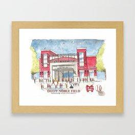 Dudy-Noble Field 2018 Framed Art Print