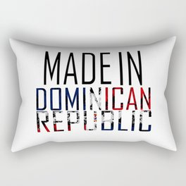 Made In Dominican Republic Rectangular Pillow