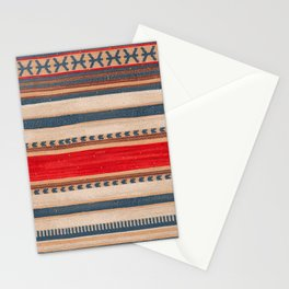 N66 - Classic Oriental Moroccan Style Fabric. Stationery Cards