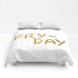 Fry Day Comforters