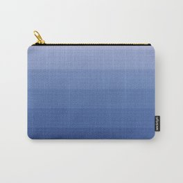 White and blue 2 Carry-All Pouch