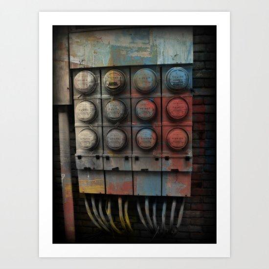 Power Surge Art Print