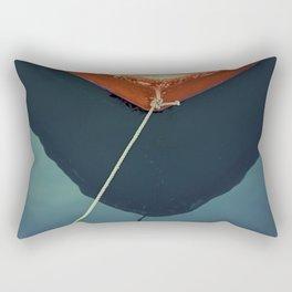 yellow boat Rectangular Pillow
