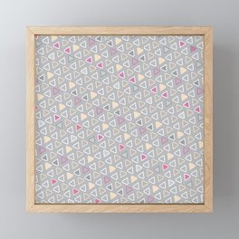 Diamond Pattern 4 Framed Mini Art Print