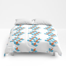 Musical repeating pattern No.3, Collection No.1 Comforters