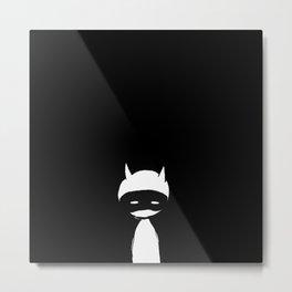 minima - devil mask Metal Print