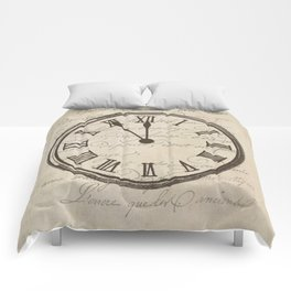 Script Clock 3 Comforters