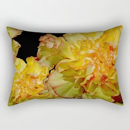 Carnation, Dianthus Fantasy 13 Rectangular Pillow