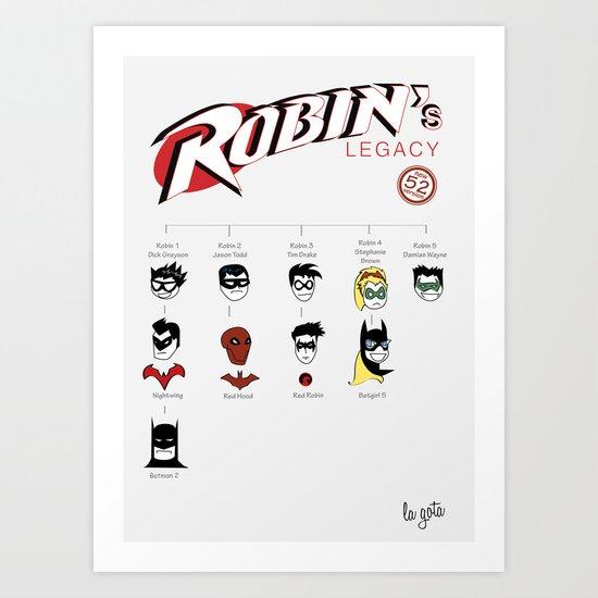 Robin's Legacy Art Print
