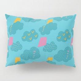 kites - blue Pillow Sham