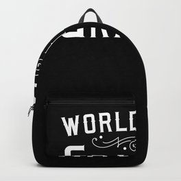 World´s Best Grandad - Grandpa Giftidea Backpack