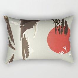 3 vacant logs Rectangular Pillow