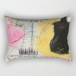 Simona's Eyes Rectangular Pillow