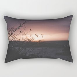 Sunrise in the cove Rectangular Pillow