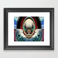 Psychedelic Pinball Framed Art Print