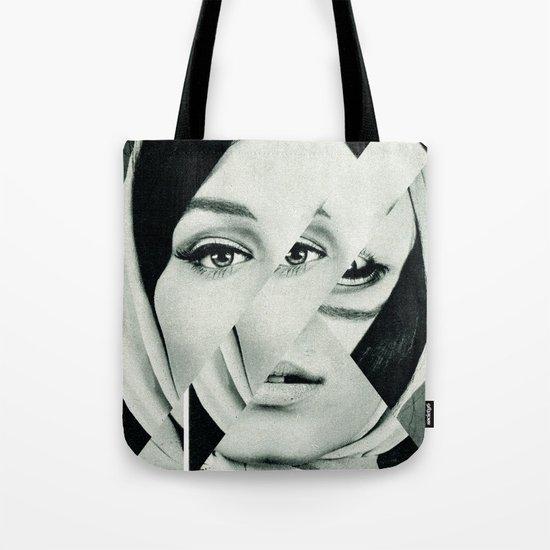 Frau mit Dreieck 1 Tote Bag
