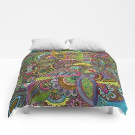 Evie's Garden Paisley Comforters
