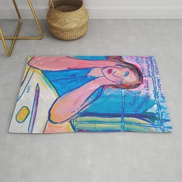 Charlotte Salomon - Life or Theatre - Digital Remastered Edition Rug