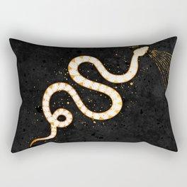 Pale Snake Inktober :: Sleep Copiously Rectangular Pillow