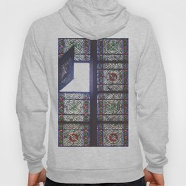Open Window - Notre Dame Cathedral, Paris 2015 Hoody