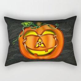 Jack O'Lantern Knot Rectangular Pillow