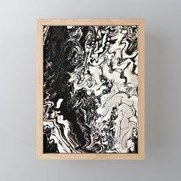 Positive or negative, you choose Framed Mini Art Print