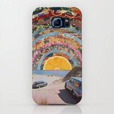 Orange sunset Slim Case Galaxy S8