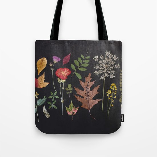 Plants + Leaves 4 Tote Bag