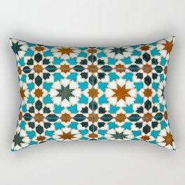 Moorish tiles Rectangular Pillow