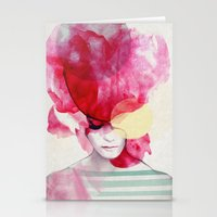 paint Stationery Cards featuring Bright Pink - Part 2  by Jenny Liz Rome
