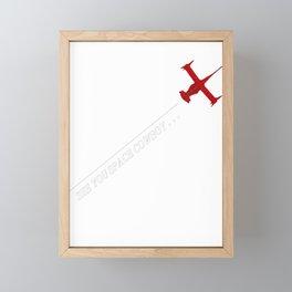 Cowboy Bebop - See You Space Cowboy Framed Mini Art Print