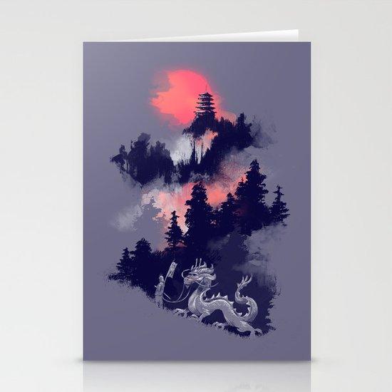 Samurai's life Stationery Cards