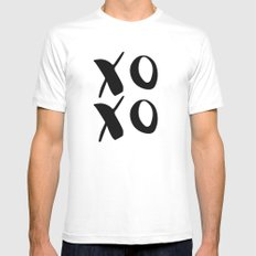 xoxo Mens Fitted Tee White MEDIUM