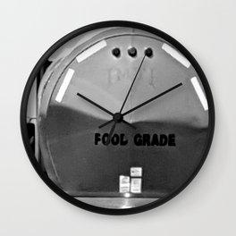 Fool Grade Wall Clock