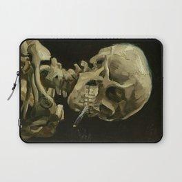 Vincent van Gogh - Skull of a Skeleton with Burning Cigarette Laptop Sleeve
