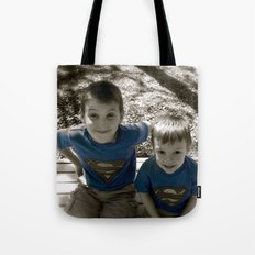 SUPER BOYS!! Tote Bag
