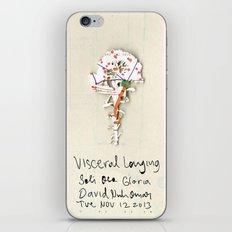 Visceral Longing  iPhone & iPod Skin