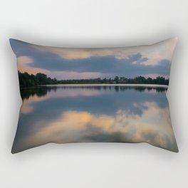 Lake in swabia Rectangular Pillow